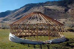 camping yurts
